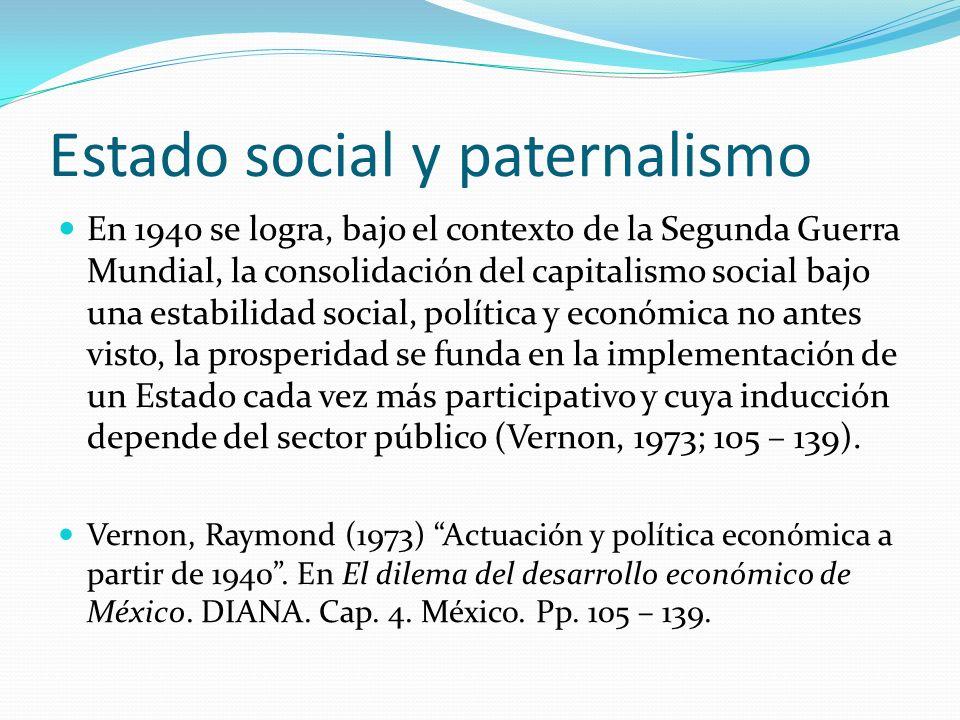 Estado social y paternalismo