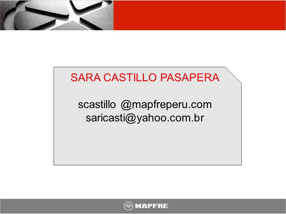 SARA CASTILLO PASAPERA scastillo @mapfreperu.com