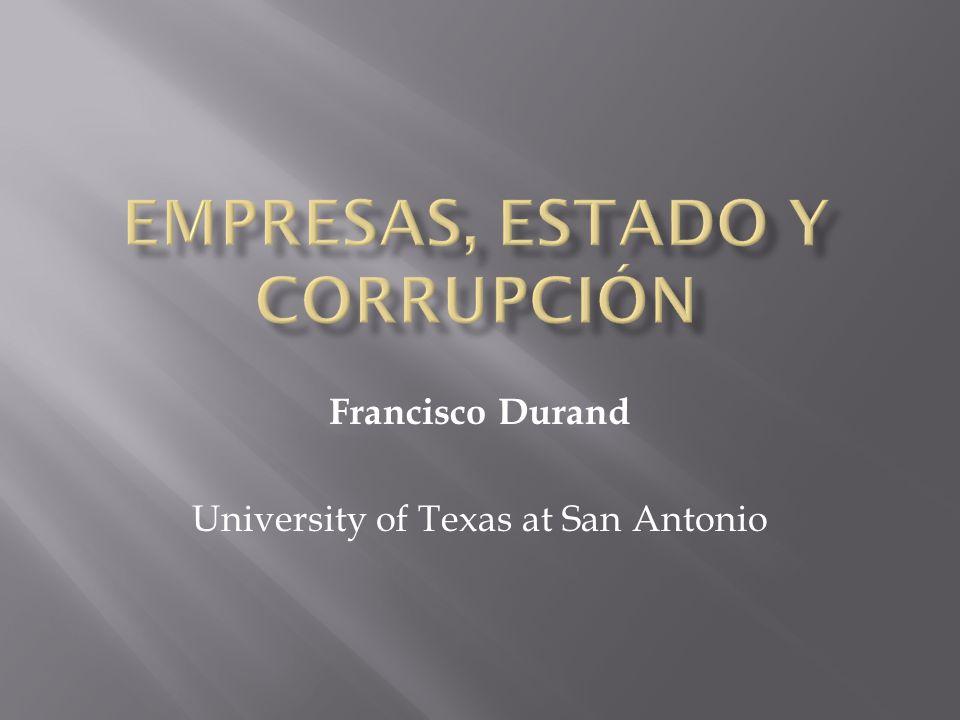 empresas, estado y corrupción