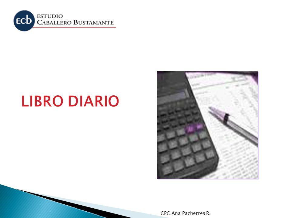 LIBRO DIARIO CPC Ana Pacherres R.