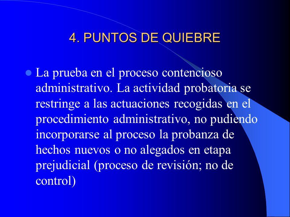 4. PUNTOS DE QUIEBRE
