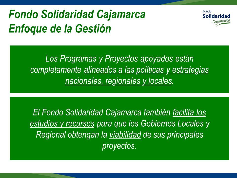 Fondo Solidaridad Cajamarca Enfoque de la Gestión