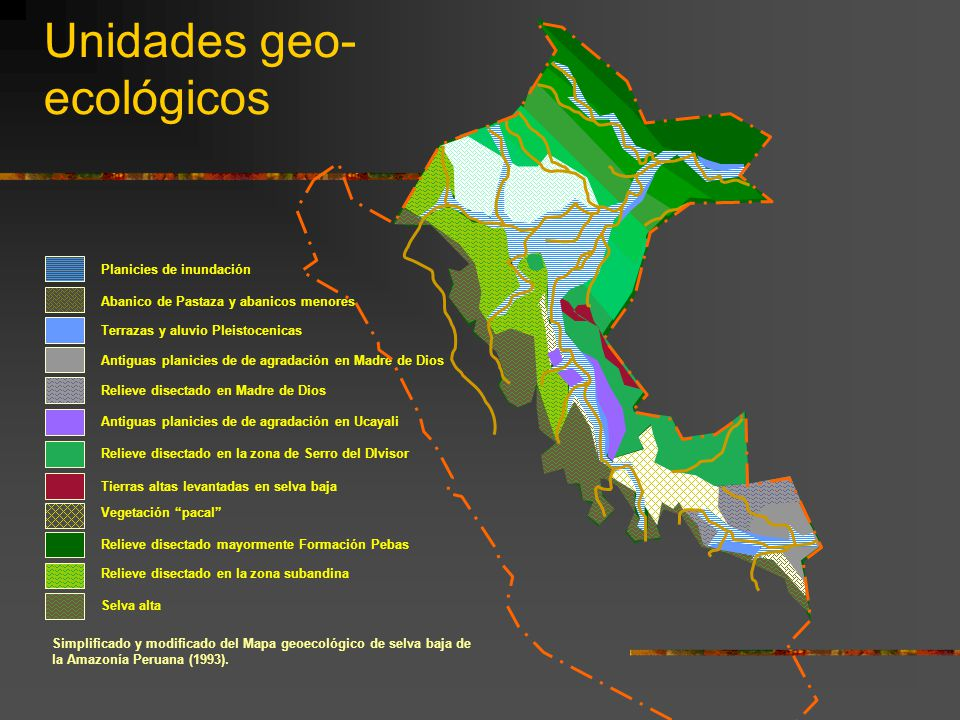 Unidades geo-ecológicos