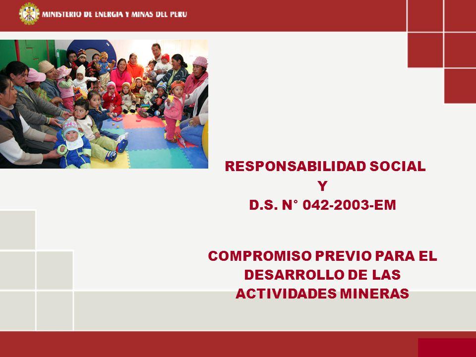 RESPONSABILIDAD SOCIAL COMPROMISO PREVIO PARA EL