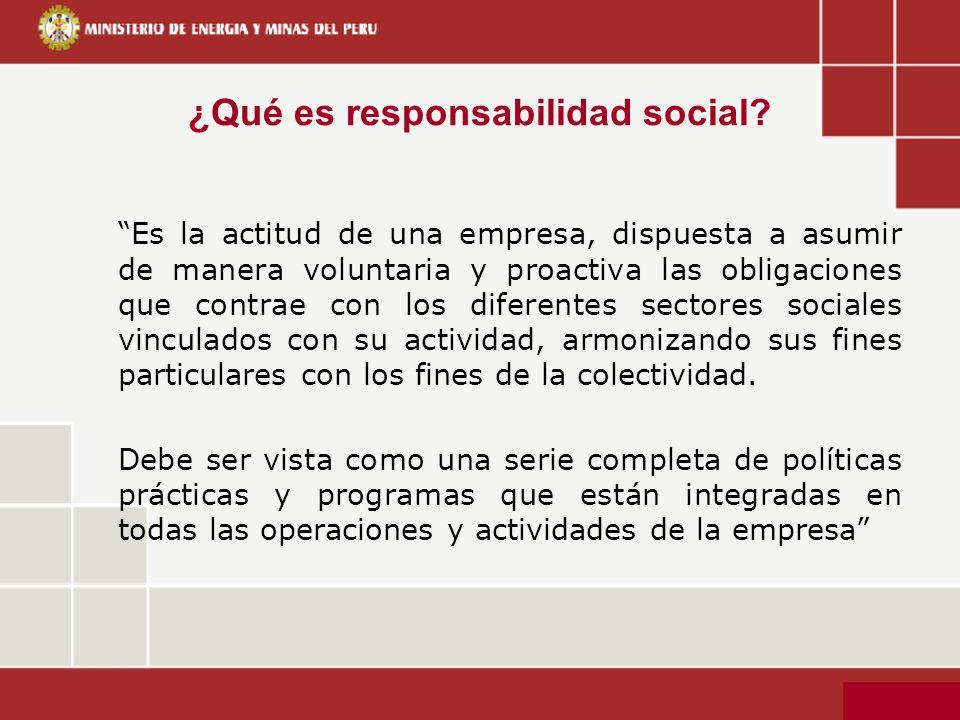 ¿Qué es responsabilidad social