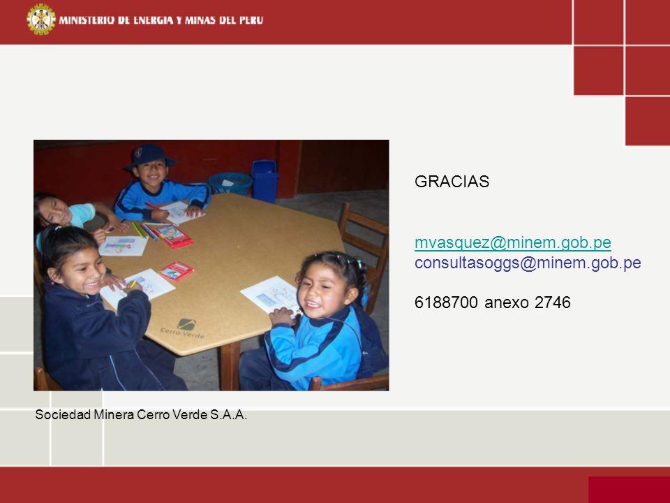 GRACIAS mvasquez@minem.gob.pe consultasoggs@minem.gob.pe