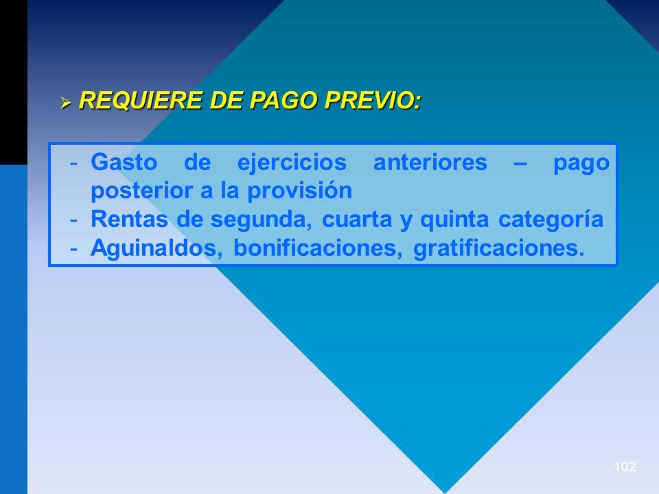 REQUIERE DE PAGO PREVIO: