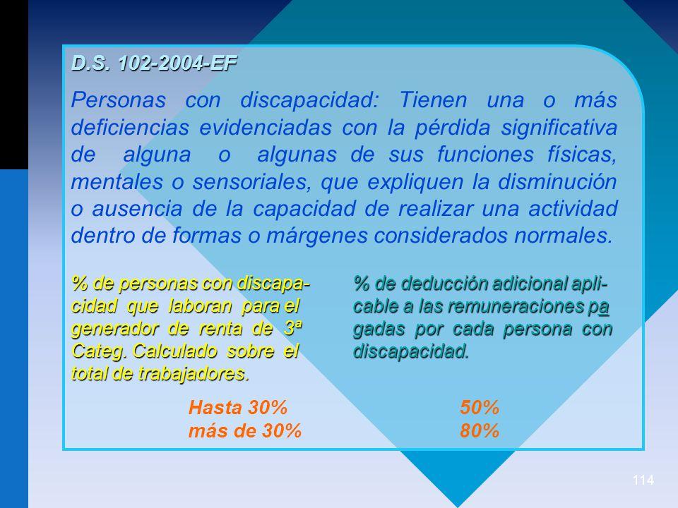 D.S. 102-2004-EF