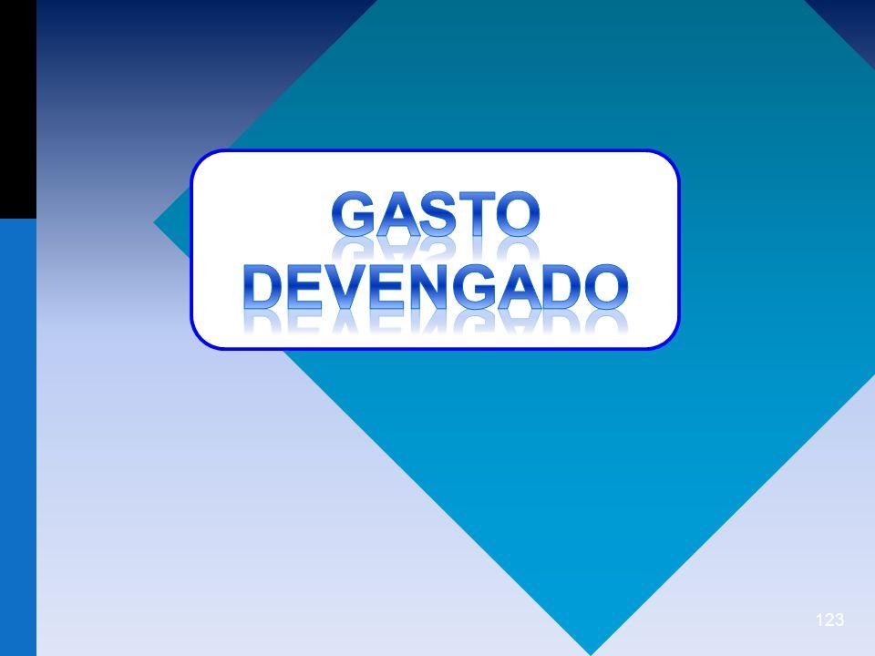 GASTO DEVENGADO