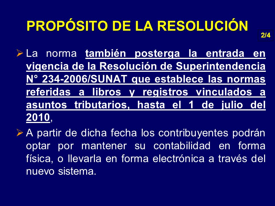 PROPÓSITO DE LA RESOLUCIÓN
