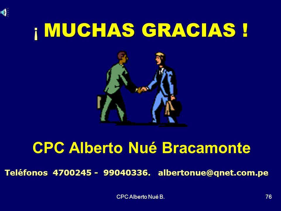 CPC Alberto Nué Bracamonte