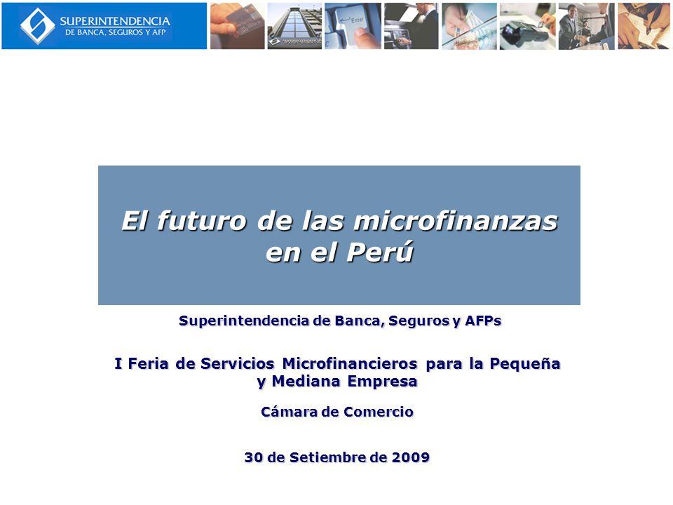 El futuro de las microfinanzas en el Perú