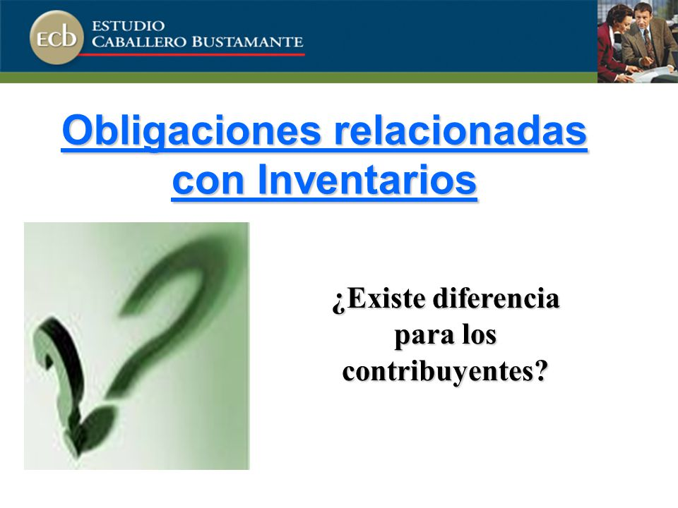 Obligaciones relacionadas con Inventarios