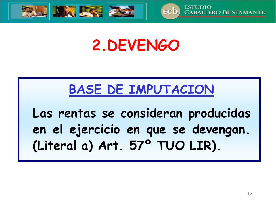 2.DEVENGO BASE DE IMPUTACION