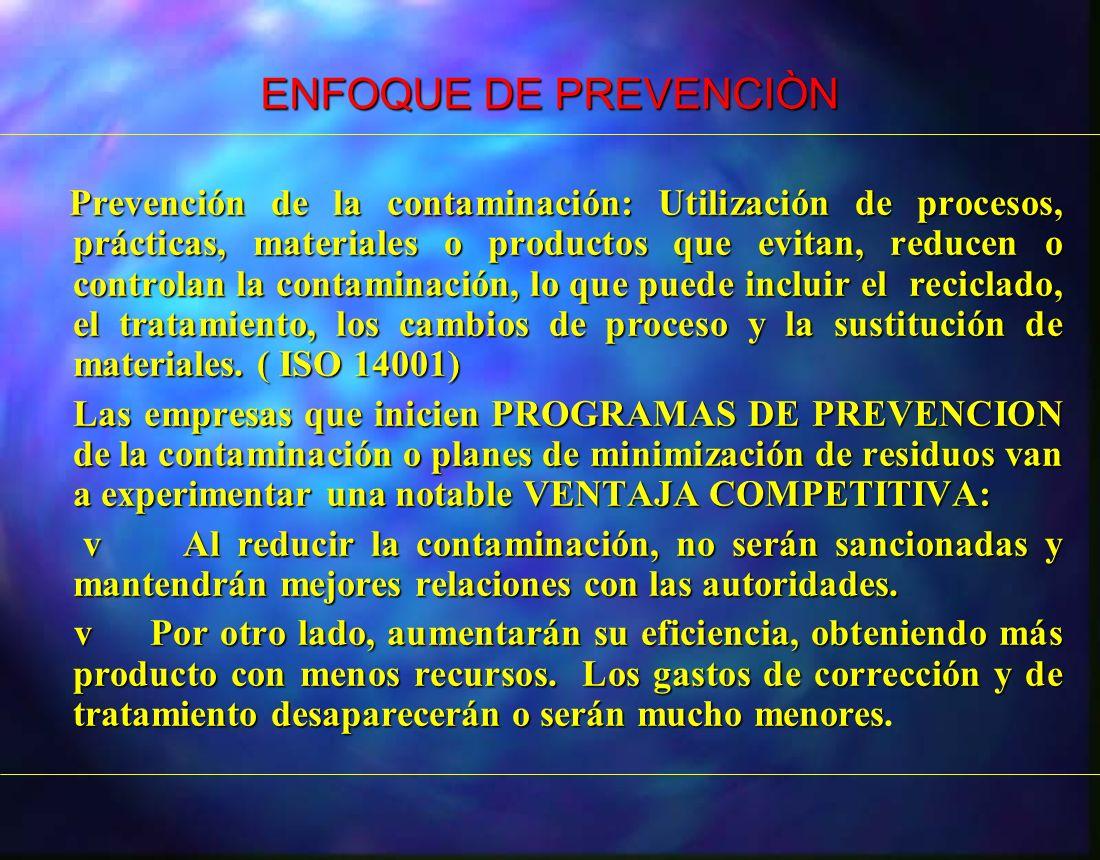 ENFOQUE DE PREVENCIÒN