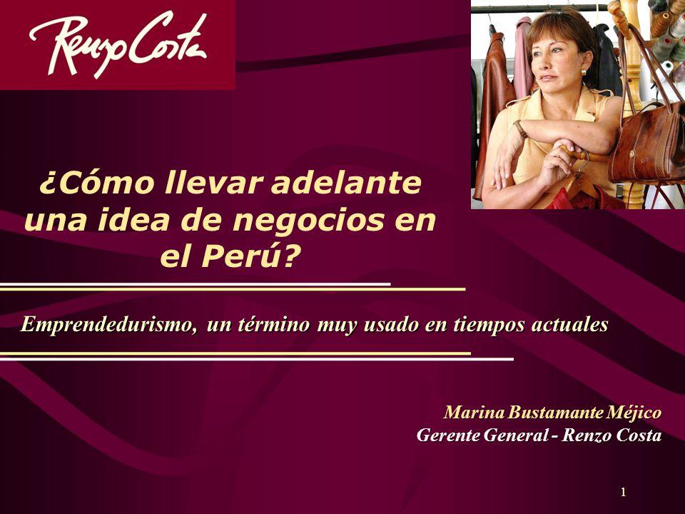 ¿Cómo llevar adelante una idea de negocios en el Perú