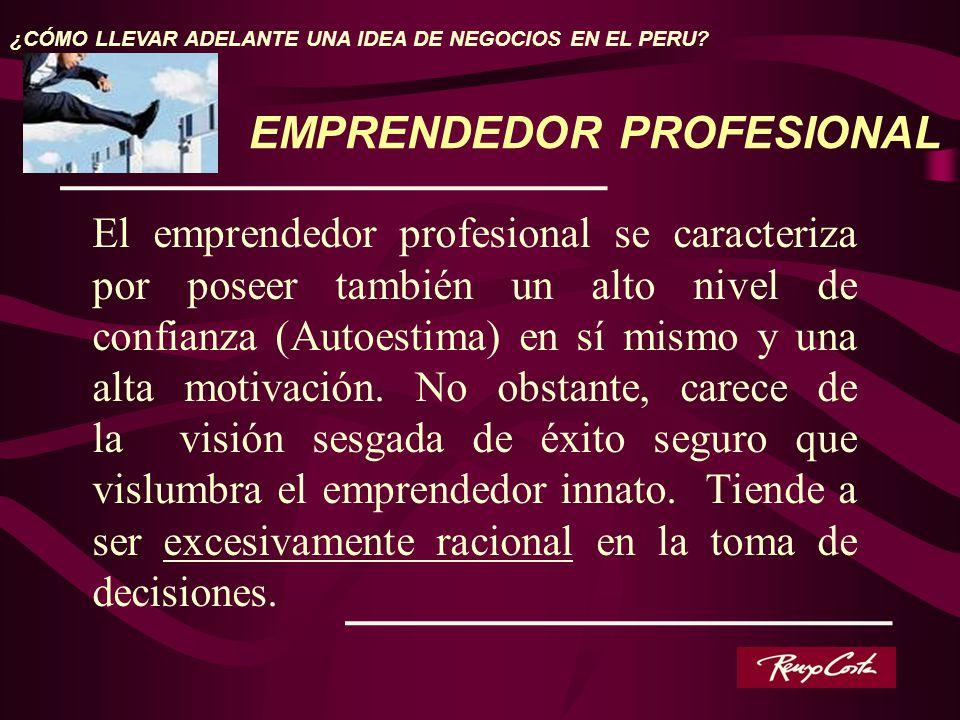 EMPRENDEDOR PROFESIONAL