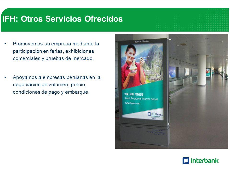 IFH: Otros Servicios Ofrecidos