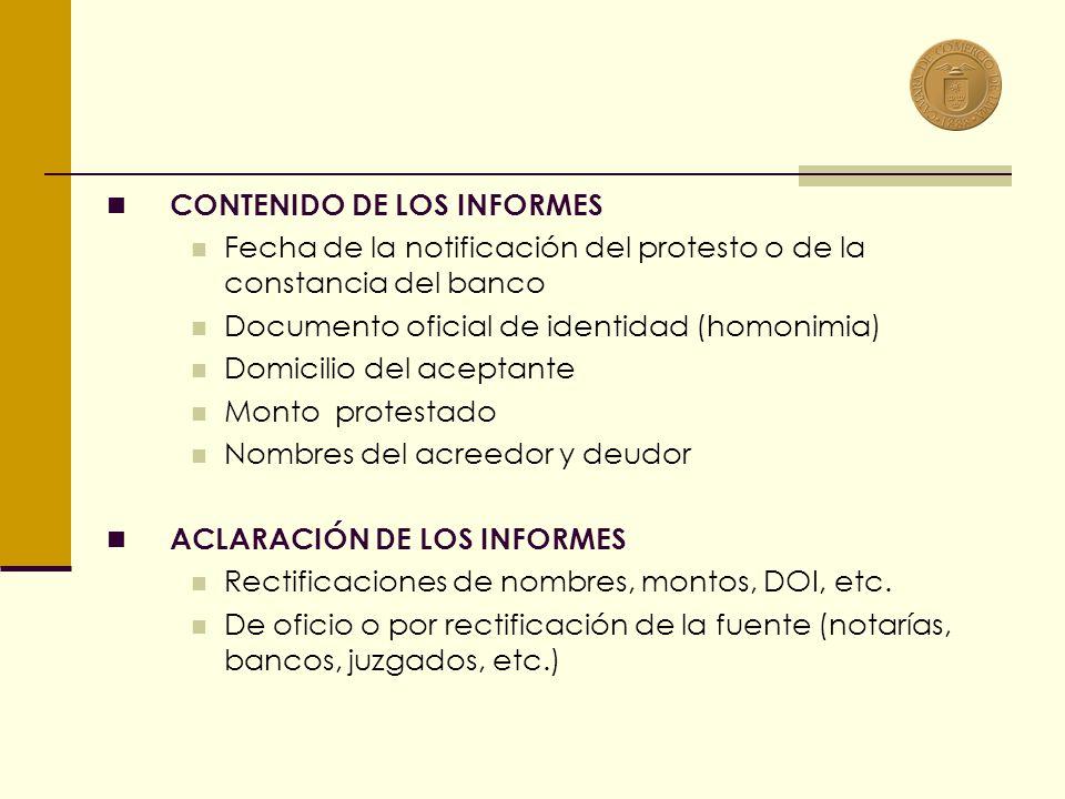 5.2 DIFUSIÓN Principio básico registral. Centrales de Riesgo. Página web (www.e-camara.net seleccionar Infocrédito)