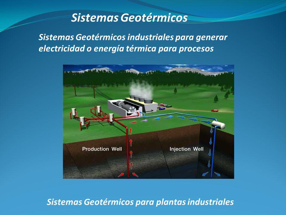 Sistemas Geotérmicos para plantas industriales