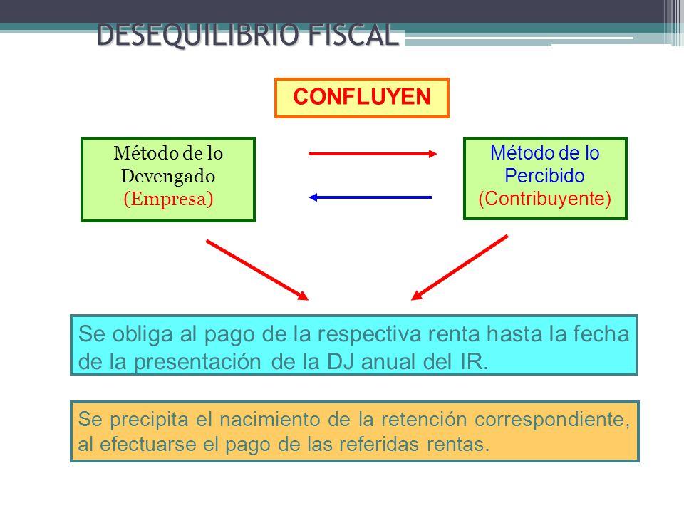 DESEQUILIBRIO FISCAL CONFLUYEN