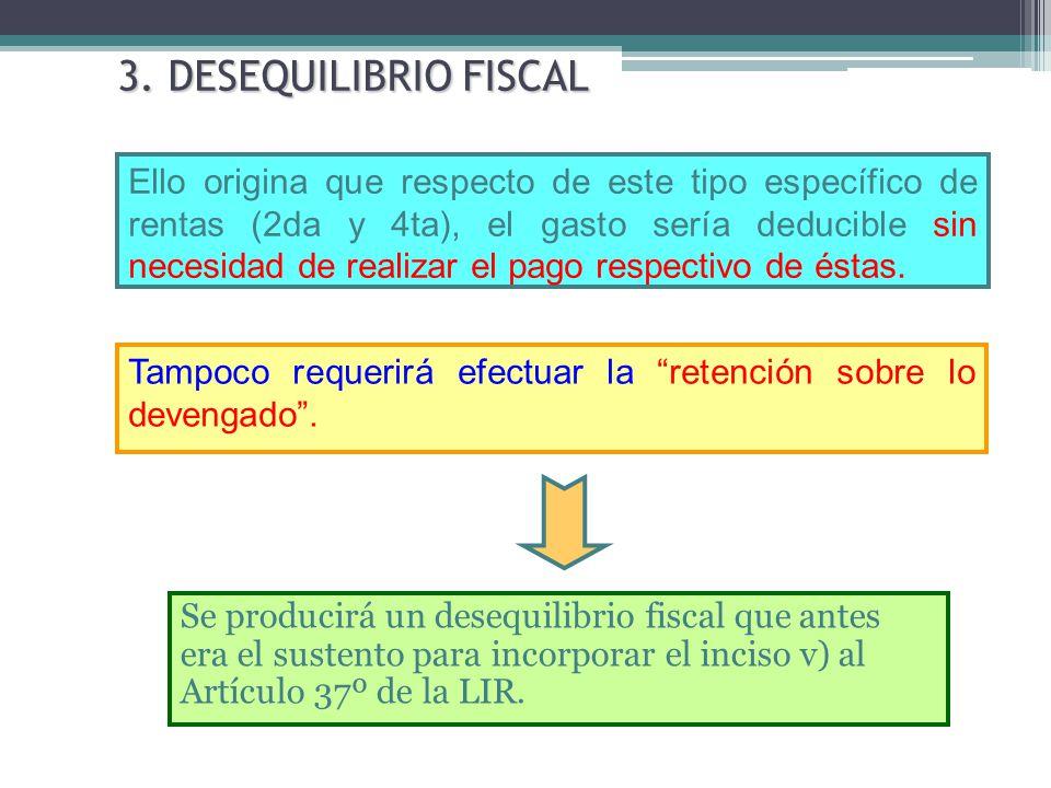 3. DESEQUILIBRIO FISCAL