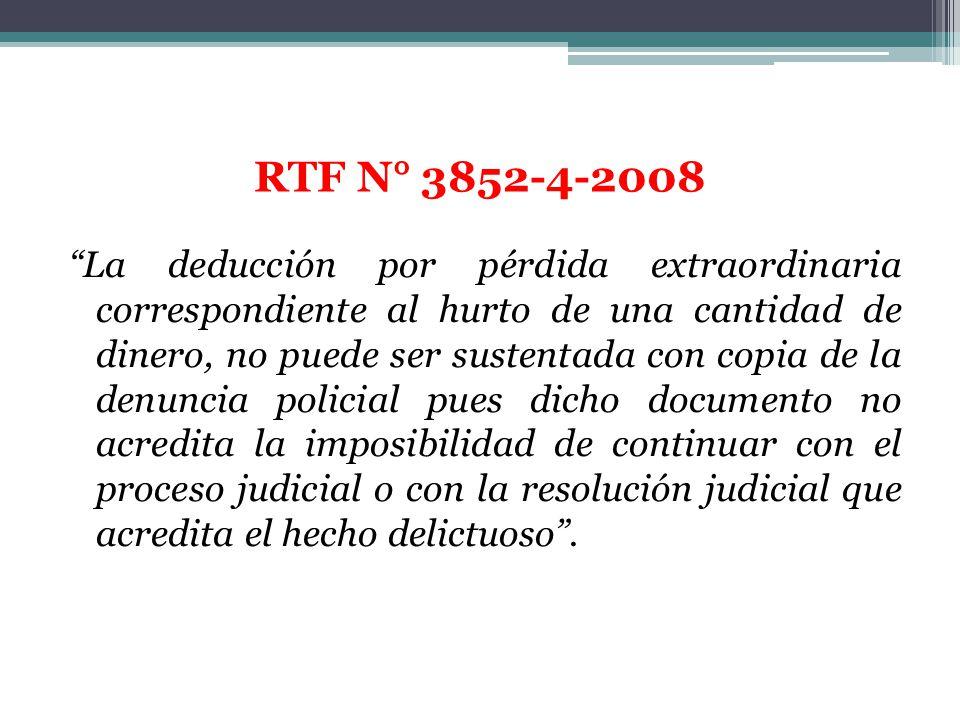 RTF N° 3852-4-2008