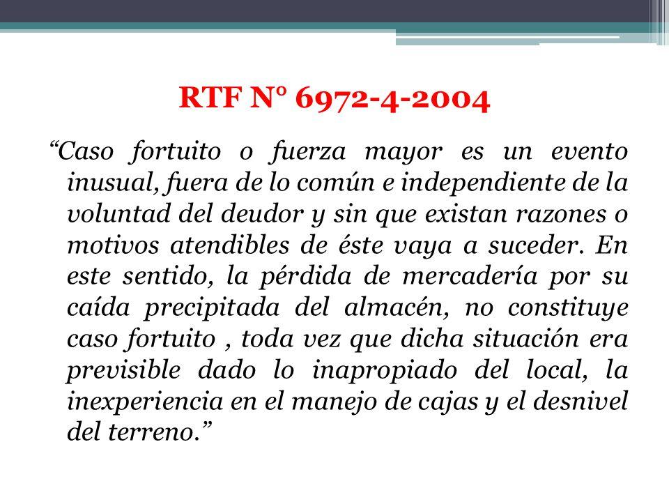 RTF N° 6972-4-2004