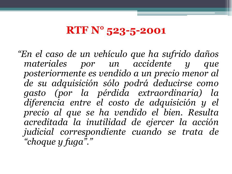 RTF N° 523-5-2001