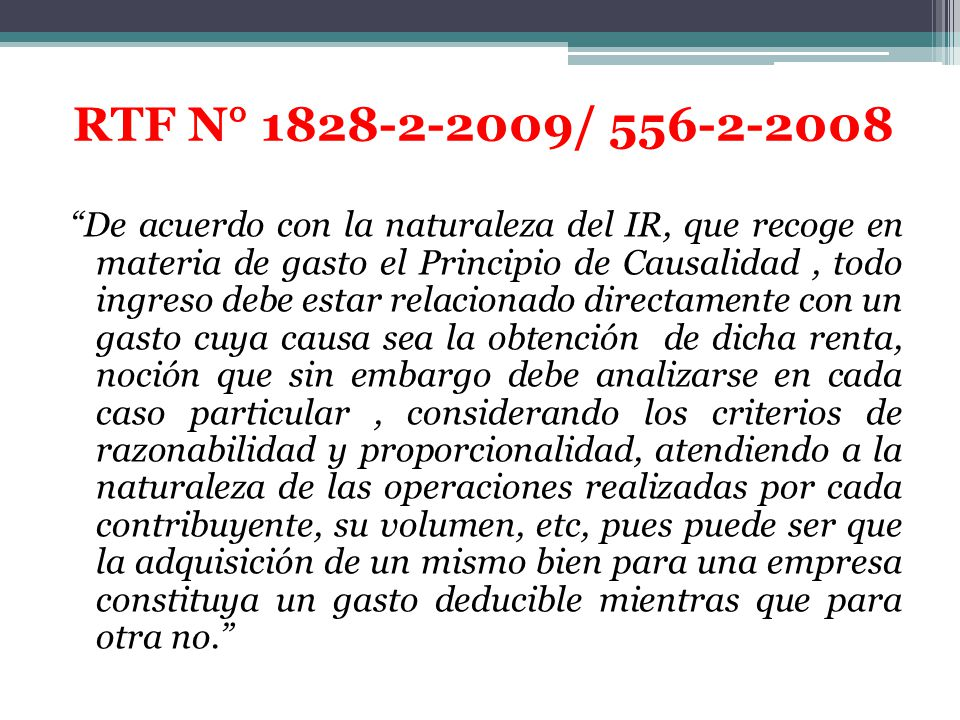 RTF N° 1828-2-2009/ 556-2-2008