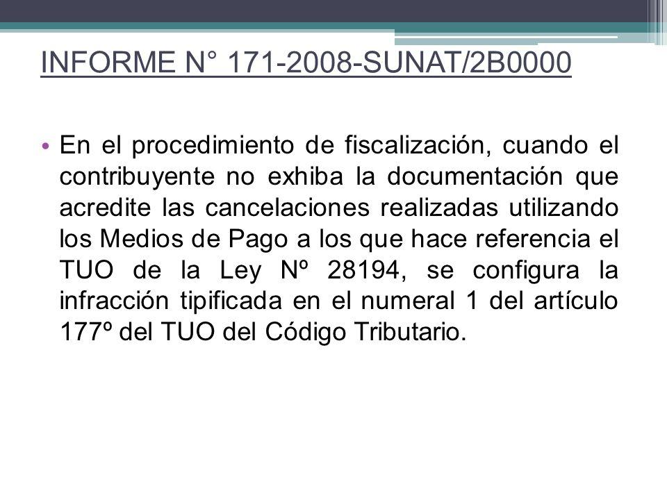 INFORME N° 171-2008-SUNAT/2B0000