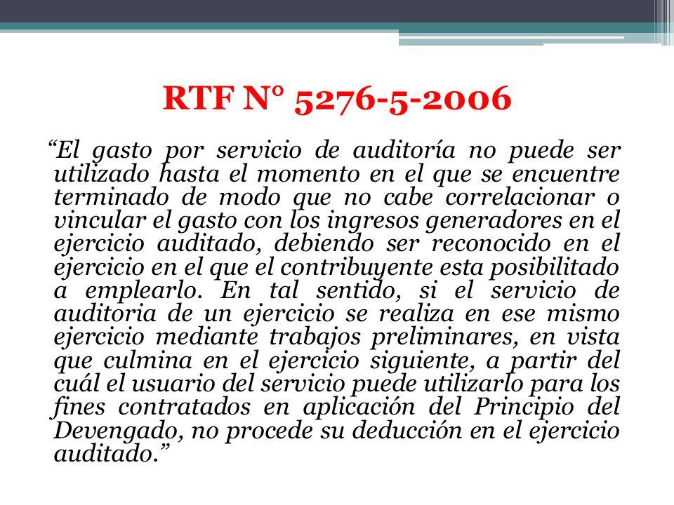 RTF N° 5276-5-2006