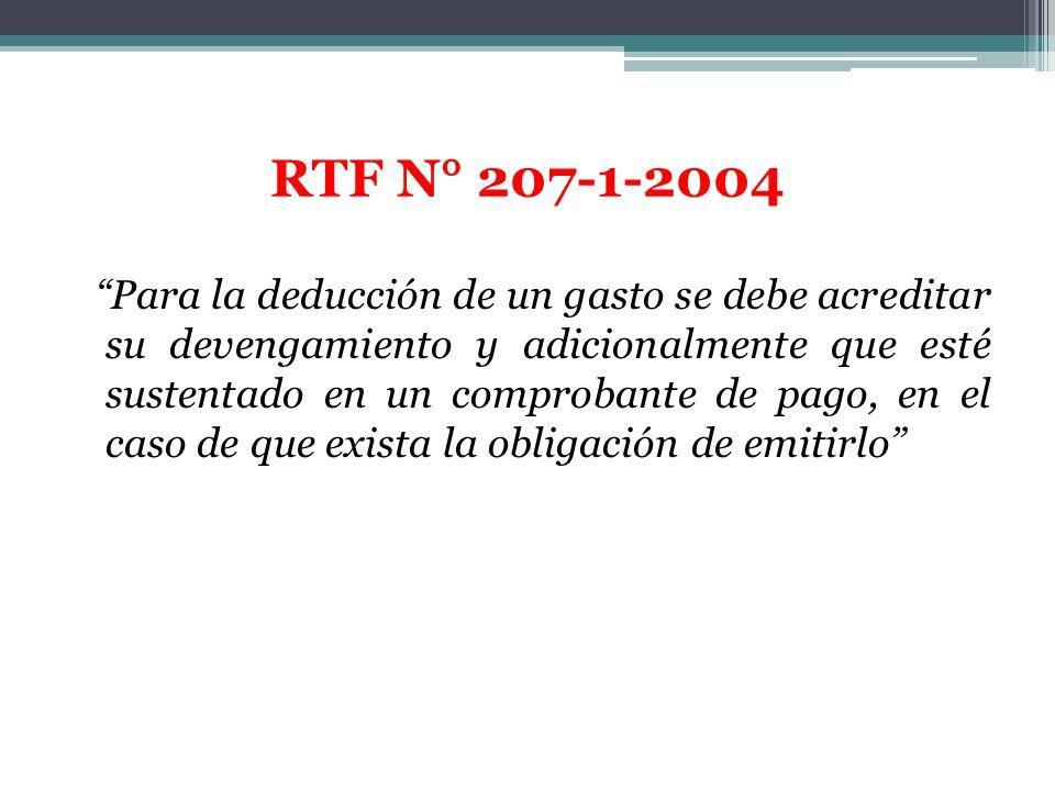RTF N° 207-1-2004