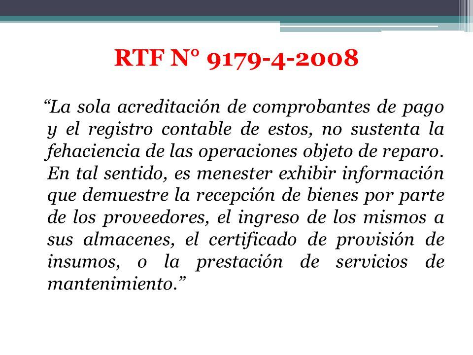 RTF N° 9179-4-2008