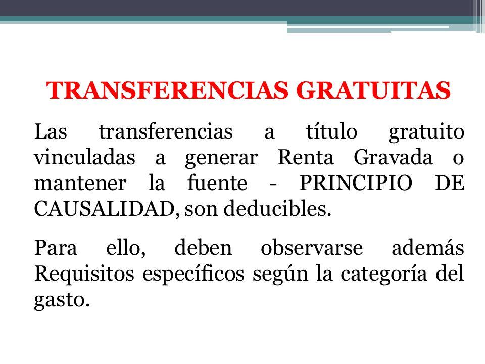 TRANSFERENCIAS GRATUITAS