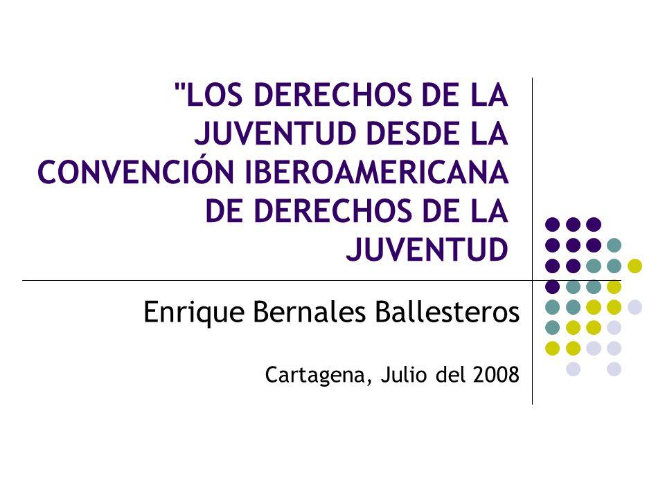 Enrique Bernales Ballesteros Cartagena, Julio del 2008