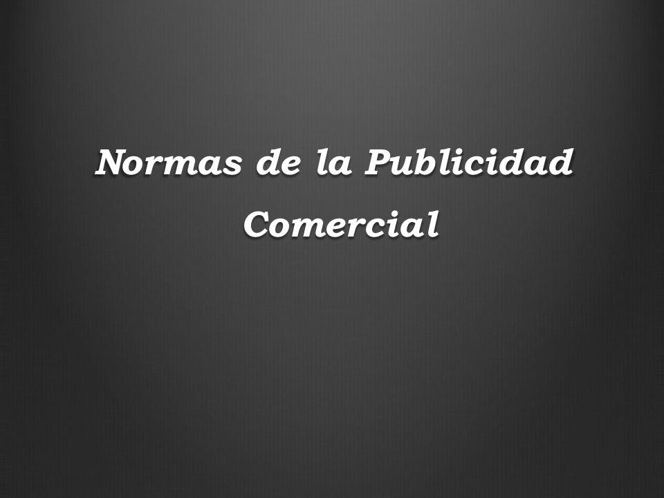 Normas de la Publicidad