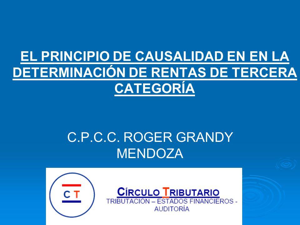 C.P.C.C. ROGER GRANDY MENDOZA
