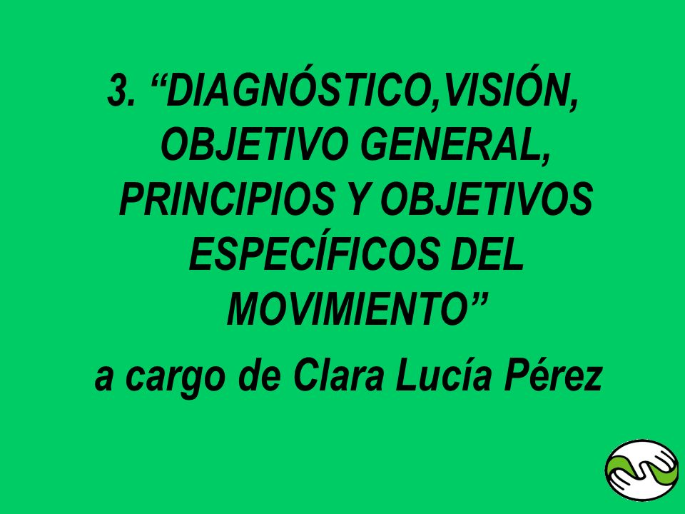 a cargo de Clara Lucía Pérez