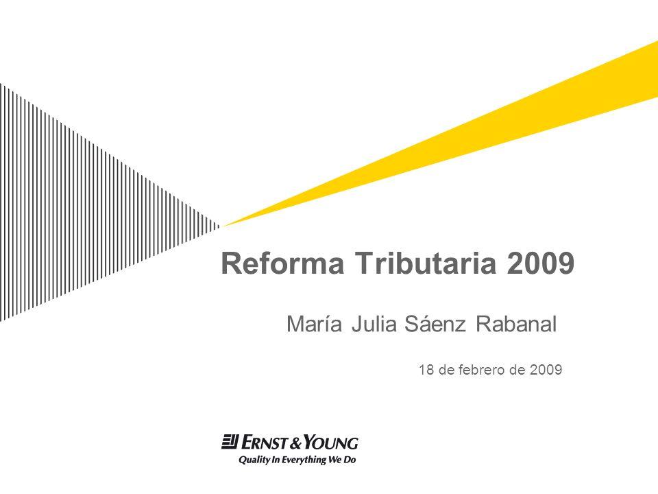 María Julia Sáenz Rabanal 18 de febrero de 2009