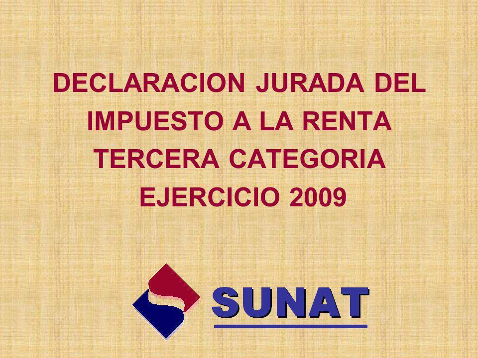 DECLARACION JURADA DEL
