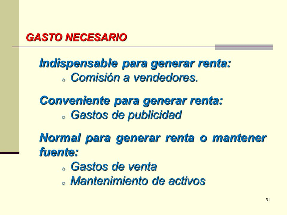 Indispensable para generar renta: Comisión a vendedores.