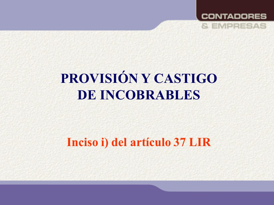 Inciso i) del artículo 37 LIR