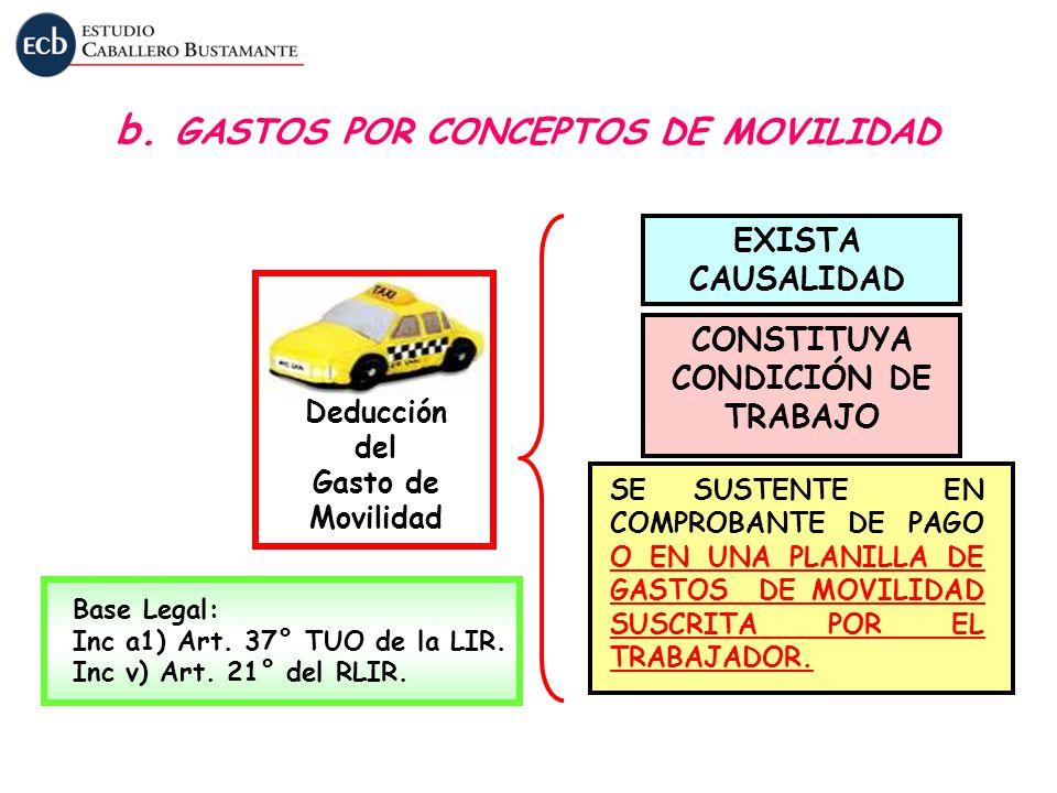 CONSTITUYA CONDICIÓN DE