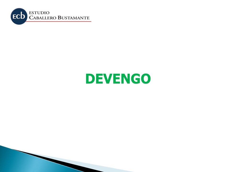 DEVENGO