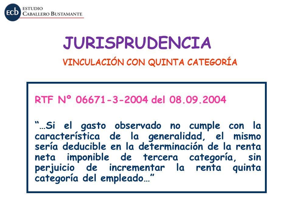 JURISPRUDENCIA RTF Nº 06671-3-2004 del 08.09.2004