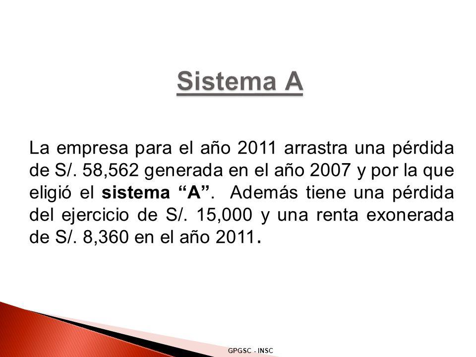 Sistema A