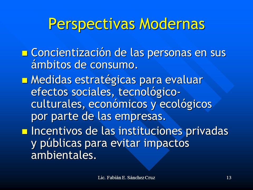 Perspectivas Modernas