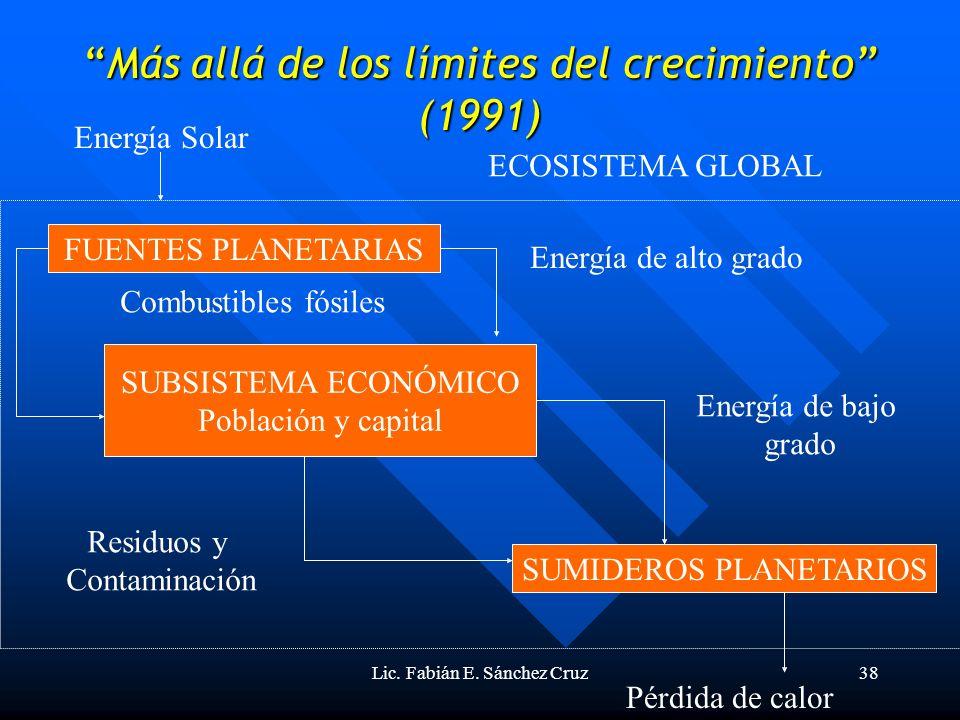 Más allá de los límites del crecimiento (1991)