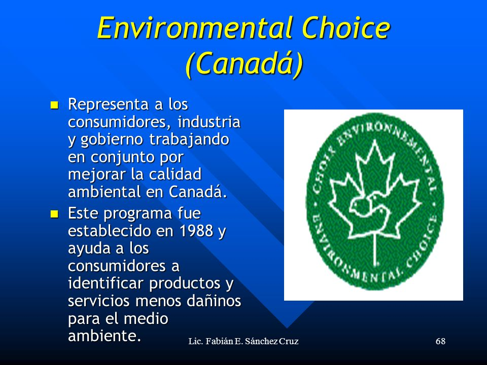 Environmental Choice (Canadá)